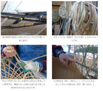 行方市で出品された竹かごに関する記事