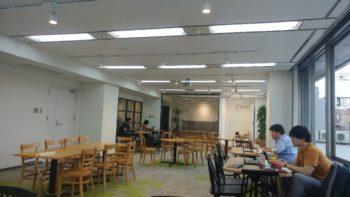 コミュニティスペースの自由に使える空間